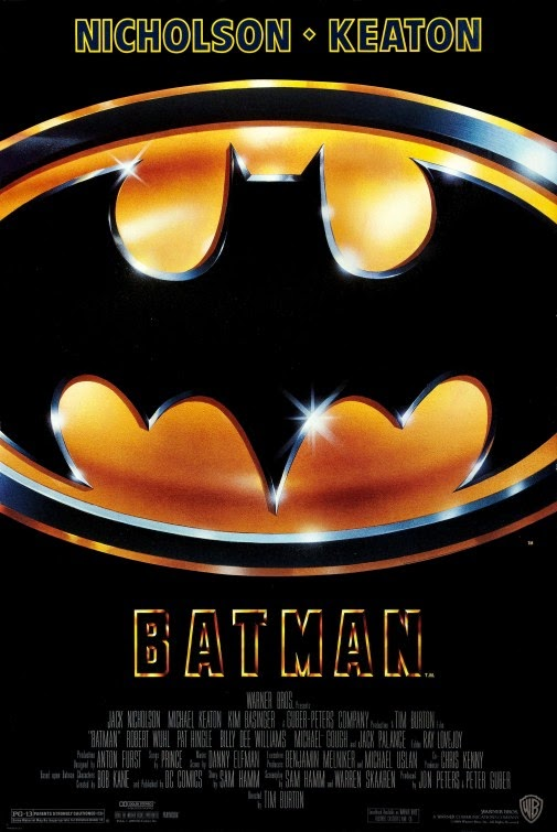 1989 Batman movie poster