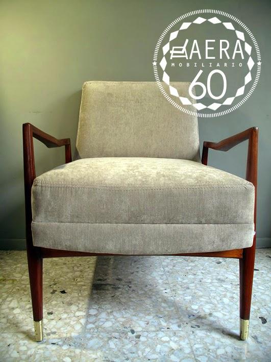 Aera60 mobiliario par sillones vintage estilo danes 50s - Sillones estilo vintage ...