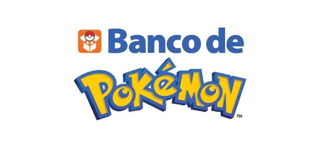 Disponible actualización del Banco Pokémon y es compatible con la séptima generación