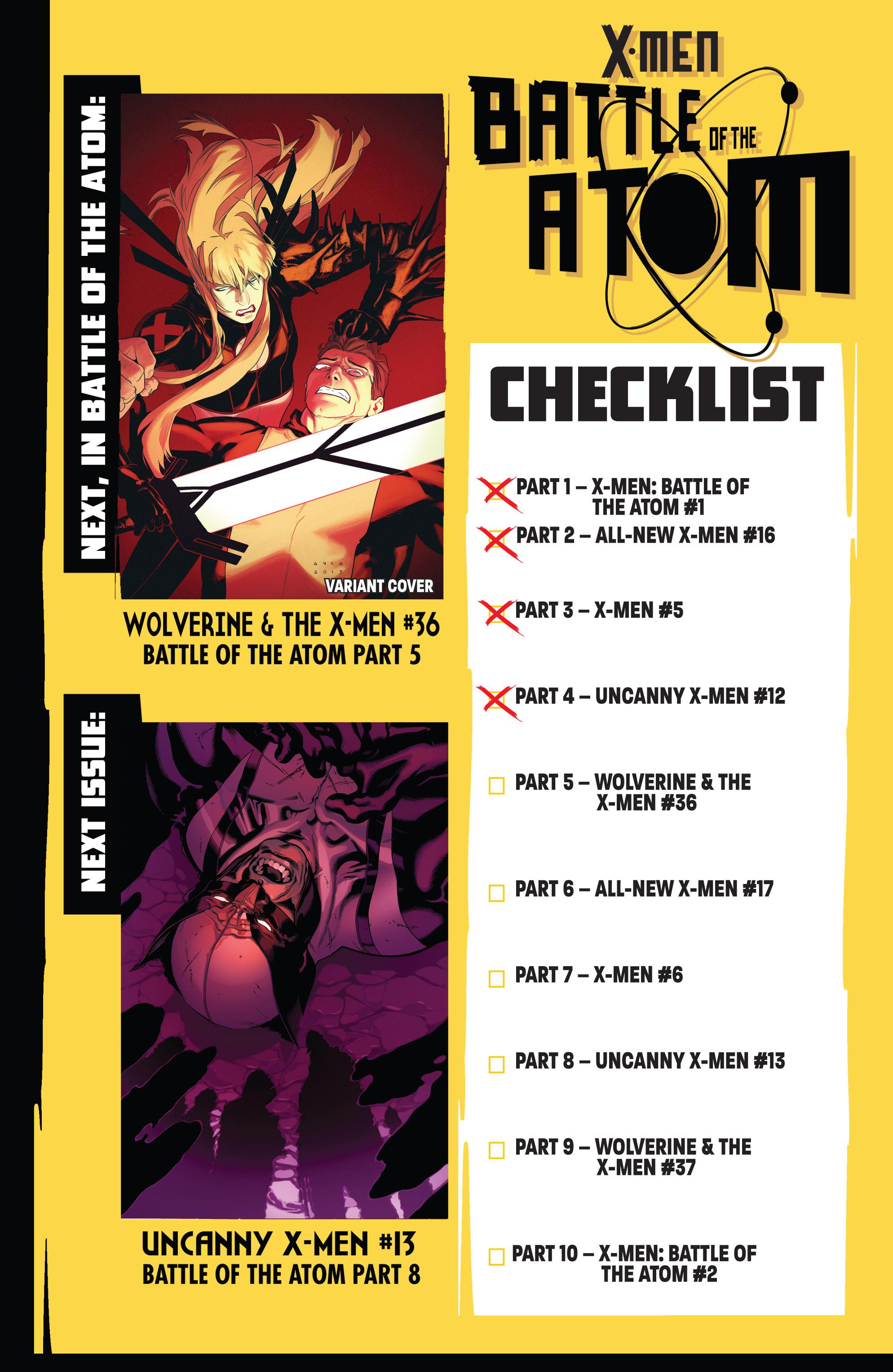Read online Uncanny X-Men (2013) comic -  Issue #12 - 17