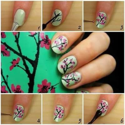 Unas Decoracion Facil Nails Art Paso A Paso