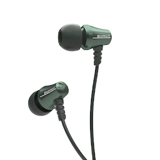Brainwavz Jive Earphones With Remote & Mic For iOS Devices (Green)