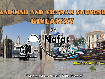 """Madinah and Vietnam Souvenirs Giveaway by Nafas Baru"""