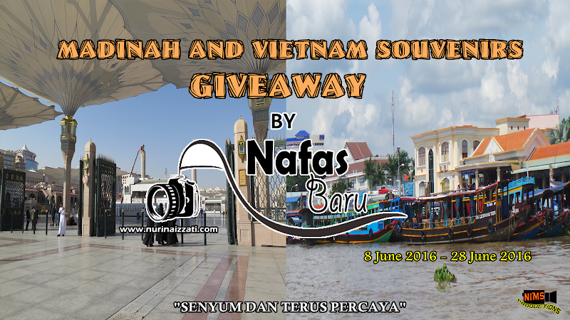 Madinah and Vietnam Souvenirs Giveaway by Nafas Baru