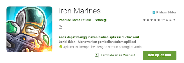 Game Strategi Android Terbaik Iron Marines