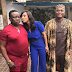 Caption This Photo Of Mr Ibu, Tonto Dikeh And Kenneth Okonkwo In Kenya