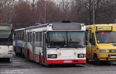 Scania CN113CLL w Oświęcimiu