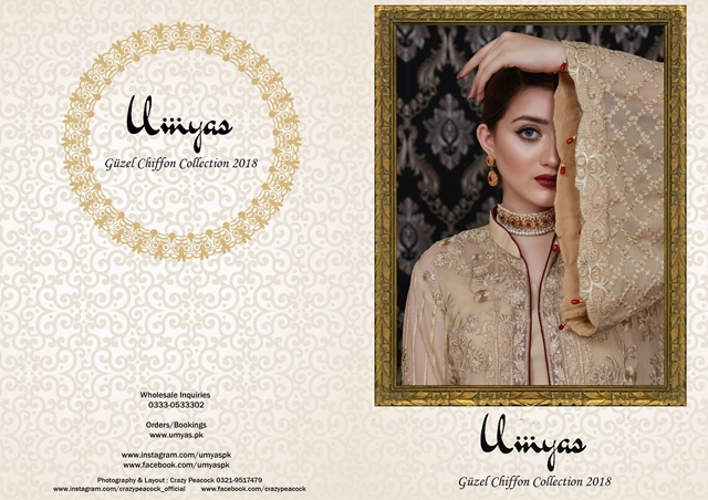 Umyas Guzel Chiffon Collection 2018-19