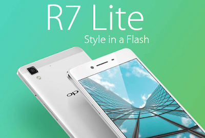 Oppo R7 lite Specifications - LAUNCH Announced 2015, September DISPLAY Type AMOLED capacitive touchscreen, 16M colors Size 5.0 inches (~67.9% screen-to-body ratio) Resolution 720 x 1280 pixels (~294 ppi pixel density) Multitouch Yes Protection Corning Gorilla Glass 3  - Color OS 2.1 BODY Dimensions 143 x 71 x 6.3 mm (5.63 x 2.80 x 0.25 in) Weight 147 g (5.19 oz) SIM Dual SIM (Nano-SIM/ Micro-SIM, dual stand-by) PLATFORM OS Android OS, v5.1 (Lollipop) CPU Quad-core 1.5 GHz Cortex-A53 & quad-core 1.0 GHz Cortex-A53 Chipset Qualcomm MSM8939 Snapdragon 615 GPU Adreno 405 MEMORY Card slot microSD, up to 128 GB (uses SIM 2 slot) Internal 16 GB, 2 GB RAM CAMERA Primary 13 MP, Schneider-Kreuznach optics, phase detection autofocus, LED flash Secondary 8 MP Features Geo-tagging, touch focus, face detection, panorama, HDR Video 1080p@30fps NETWORK Technology GSM / HSPA / LTE 2G bands GSM 850 / 900 / 1800 / 1900 - SIM 1 & SIM 2 3G bands HSDPA 850 / 900 / 1900 / 2100 - Global, Philippines 4G bands LTE band 1(2100), 3(1800), 7(2600), 8(900), 40(2300) - Global  LTE band 1(2100), 3(1800), 5(850), 7(2600), 8(900), 40(2300) - Philippines Speed HSPA, LTE Cat4 150/50 Mbps GPRS Yes EDGE Yes COMMS WLAN Wi-Fi 802.11 b/g/n, Wi-Fi Direct, hotspot GPS Yes, with A-GPS, GLONASS USB microUSB v2.0, USB Host Radio No Bluetooth v4.0 FEATURES Sensors Accelerometer, proximity, compass Messaging SMS (threaded view), MMS, Email, Push Email Browser HTML5 Java No SOUND Alert types Vibration; MP3, WAV ringtones Loudspeaker Yes 3.5mm jack Yes BATTERY  Non-removable Li-Po 2320 mAh battery Stand-by  Talk time  Music play  MISC Colors Golden, Silver SAR US - Fast battery charging: 75% in 30 min - Active noise cancellation with dedicated mic - MP4/H.264 player - MP3/WAV/eAAC+/FLAC player - Document viewer - Photo/video editor