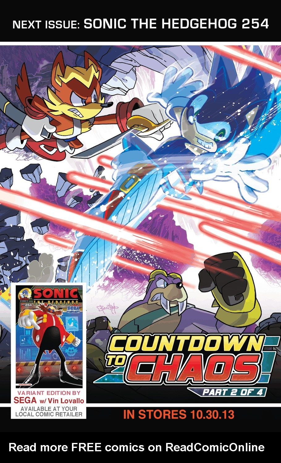 Read online Sonic The Hedgehog comic -  Issue #253 - 25