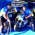 MotoGP 2017 : Andrea Iannone and  dan Alex Rins mencoba desain fairing baru di Suzuki GSX-RR