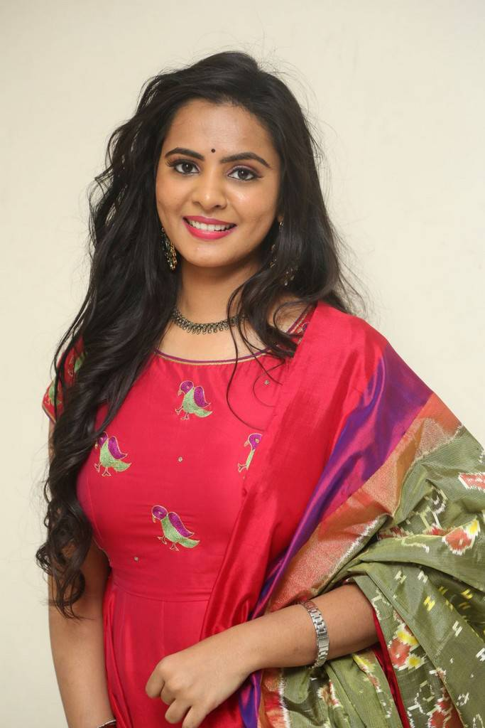 Manasa At Fashion Designer S/o Ladies Tailor Press Meet Stills
