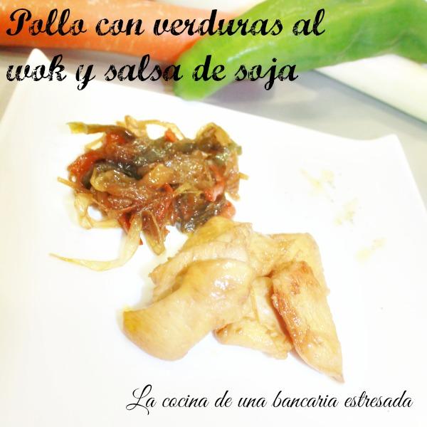Receta de pollo con verduras en wok, receta paso a paso