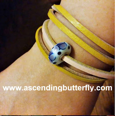 Trollbeads allow you to create a piece of jewelry that fits your style, memories and personality. Ascending Butterfly's Trollbeads bracelet made at Getting Gorgeous 2015 in New York City