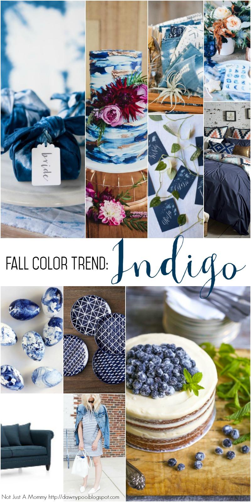 Fall Color Trend: Indigo