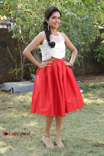 Actress Mahima Nambiar Latest Stills in White Top and Red Skirt at Kuttram 23 Movie Press Meet  0042.jpg