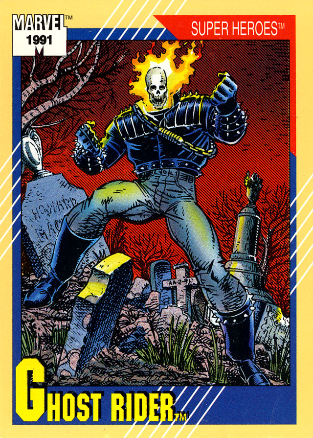 marvel trading cards 1991