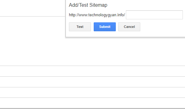 how to submit sitemap to google webmaster tools technology gyan