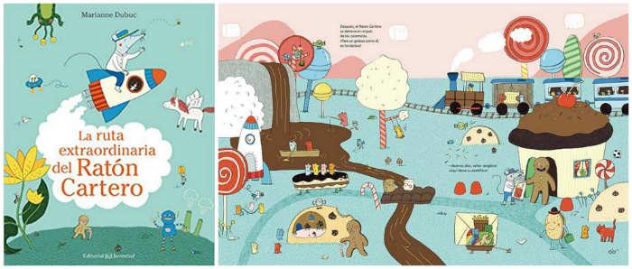 mejores cuentos infantiles 3 a 5 años, libros recomendados  ruta extraordinaria raton cartero
