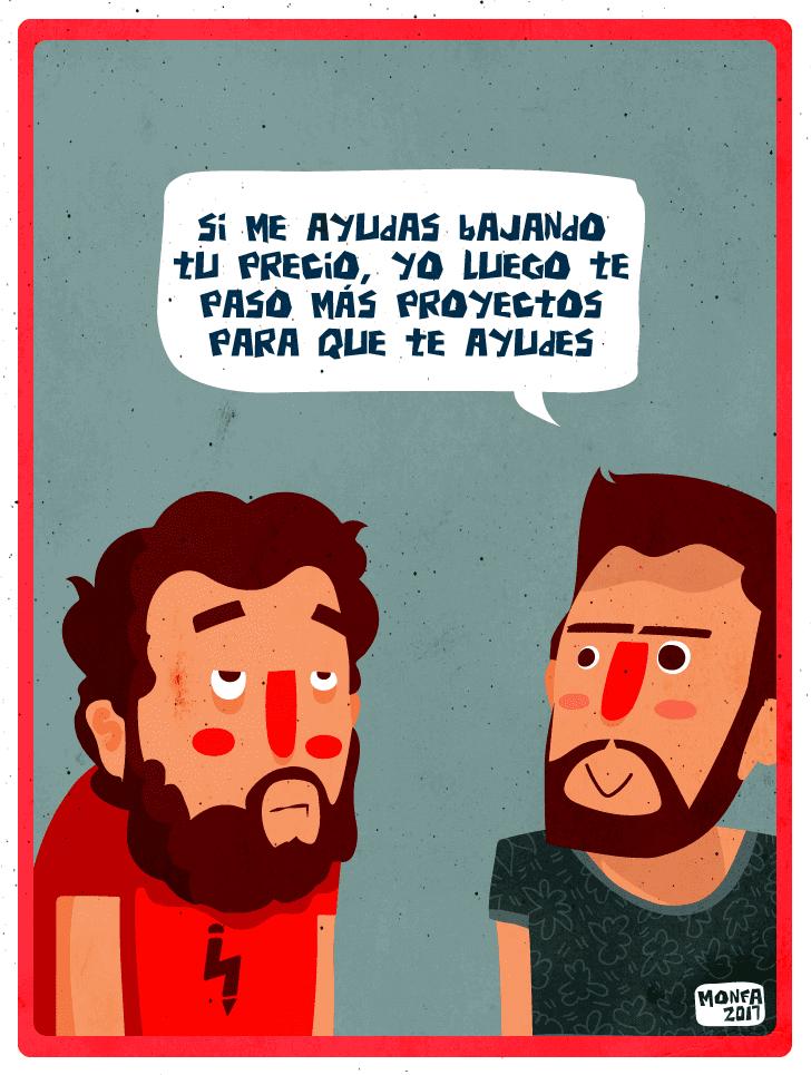 """Monfa Cabrera """"Cuentos Freelance"""""""