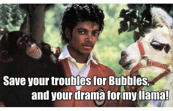 Michael Jackson Bubbles Meme