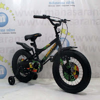 16 united tank bmx black sepeda anak