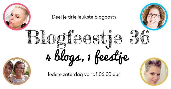 Blogfeestje #36 En wij zijn de co-hosts van dit feestje!!!!
