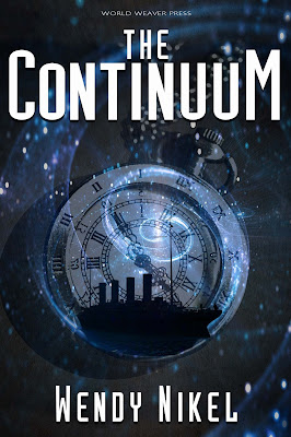 Welcome Wendy Nikel in this Cover Reveal Spotlight of The Continuum