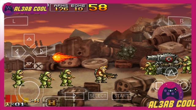 تنزيل لعبة حرب الخليج Metal Slug xx psp للاندرويد ppsspp