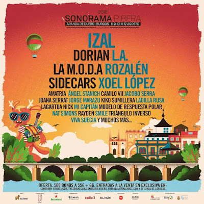 Cartel Sonorama 2018