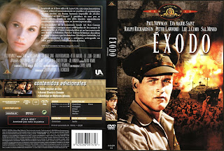 Cover, dvd, carátula: Éxodo | 1960