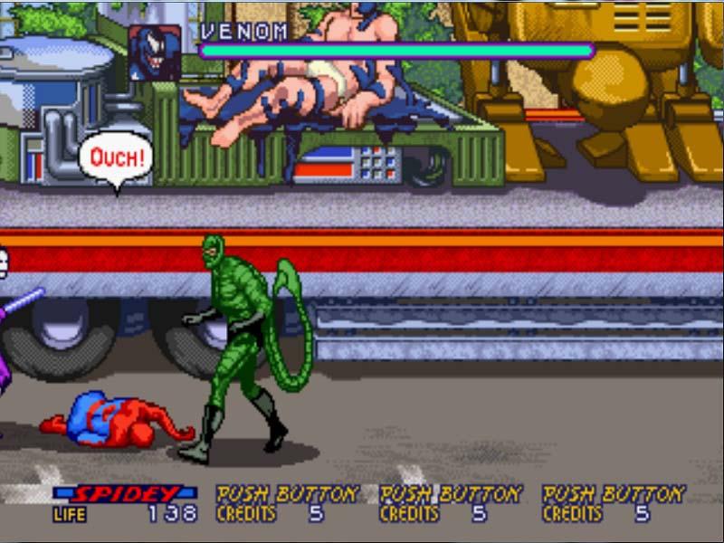 Resultado de imagem para Spider-Man: The Video Game (Arcade)