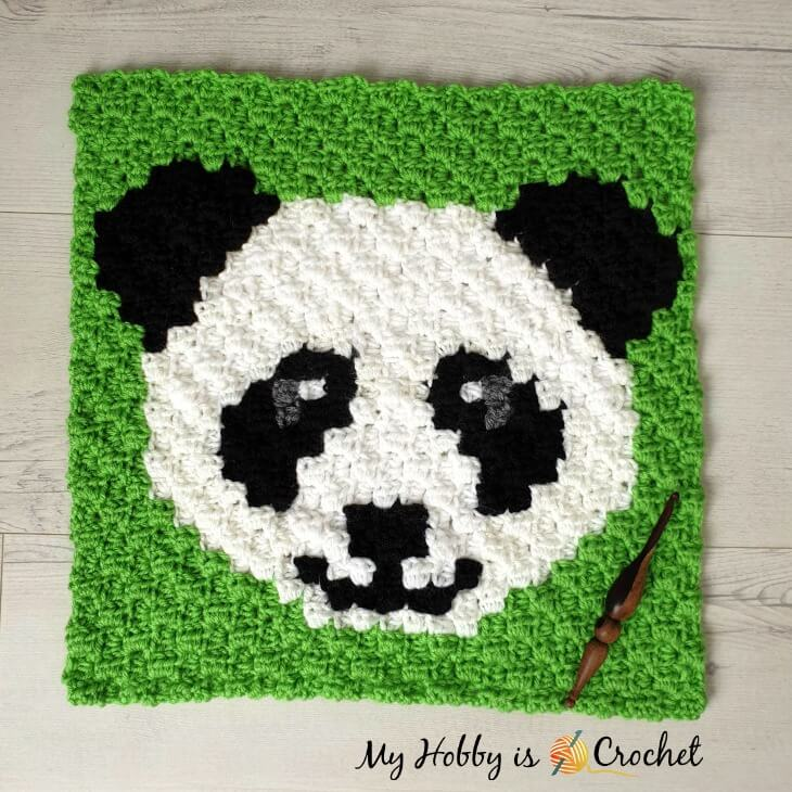 Panda Lee C2C Square