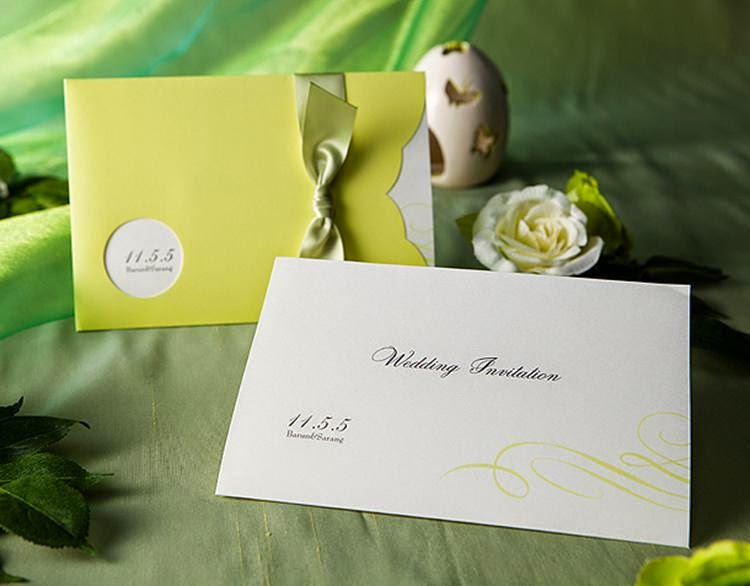 Contoh Undangan Pernikahan Terbaru 2015 Desain Undangan Terbaru