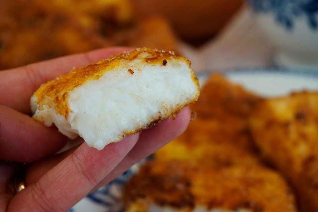 corte leche frita sin gluten