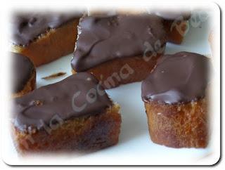 Borrachitos con chocolate facilísimos