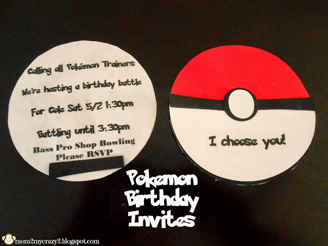 Running away? I\u0027ll help you pack Pokemon Birthday Invites Done