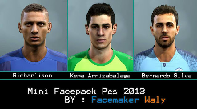 PES 2013 Mini Facepack 2019