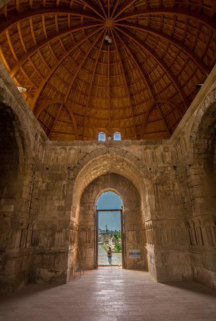 Interior del Palacio Omeya de la Ciudadela de Amman