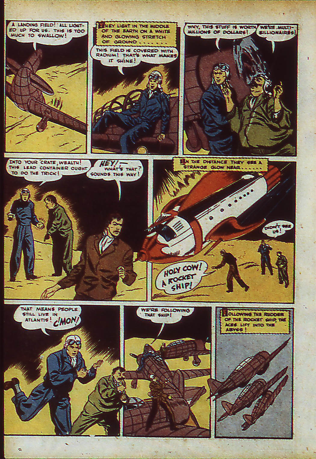 Read online Action Comics (1938) comic -  Issue #37 - 34