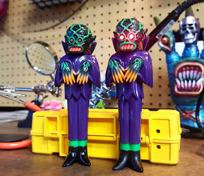 Craig Gleason's The Ghoul Grave Digger Regular & Light Up Eyes Edition Vinyl Figures by Justin Ishmael