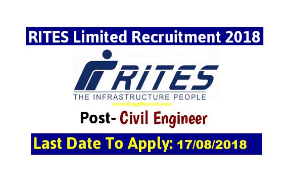 RITES Recruitment 2018