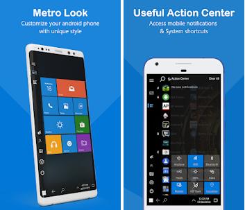 تنزيل لانشر Windows 10 لهواتف الأندرويد Computer Launcher Pro