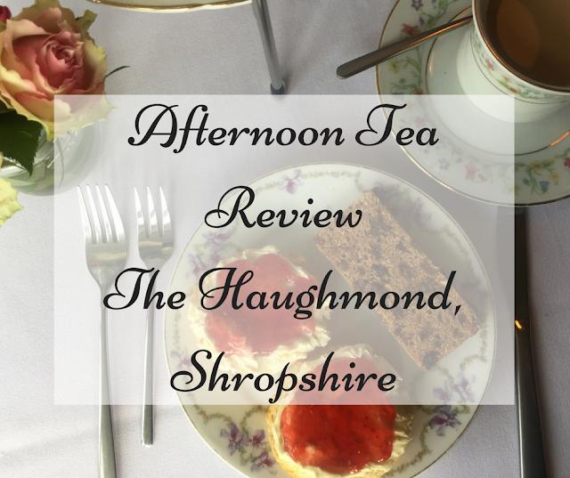 Afternoon Tea Shropshire Review The Haughmond Upton Magna near Shrewsbury, Telford