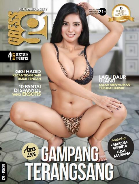 Download GRESS Magazine No. 62 - Mei 2018 PDF Arra Lim, Lisa Mariana, Marissa Venieta www.insight-zone.com