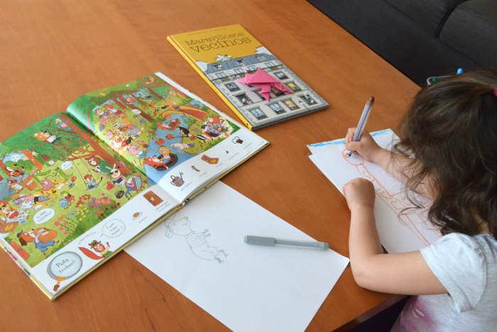 cuentos infantiles libros juego fomentar lectura a partir de jugar buscar encontrar