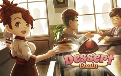 Dessert Chain Cafe Waitress Mod Apk v0.8.2 Unlimited Money Terbaru
