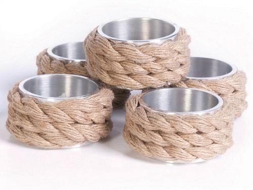 Elegant Rope Napkin Rings