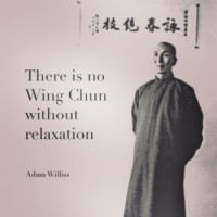 Wing Chun Quote - Relaxation - Adam Williss