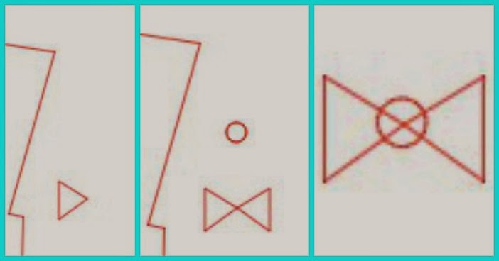 Mirror tool, Silhouette tutorial, DIY, do it yourself, card, Silhouette Studio, draw a polygon, bowtie